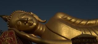 """Yoga, Karma und Lotussitz - """"Buddha hat gerne Sachen übernommen"""""""