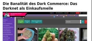Das Darknet als Einkaufsmeile