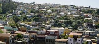 Chile - Valparaíso - bunt, laut, brodelnd