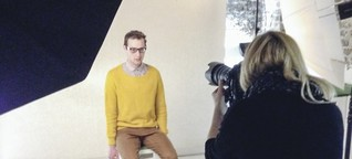 Fotografieren - Hipster in Uniform