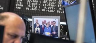 Dax, Euro, Anleihen: Anleger von Wahlergebnis überrascht, aber nicht schockiert
