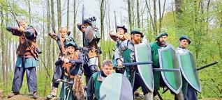 Warum Kostümierte im Ahrensburger Wald kämpfen