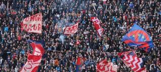Serbische Fans: Alarmstufe Roter Stern in Köln