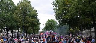 Politparade unterm Regenbogen