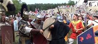 Römerfest in Hechingen: Kelten, Römer, Gladiatoren (Schwäbisches Tagblatt, 28.08.16)