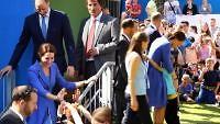 Royaler Besuch im Problemviertel - Herzogin Kate verzaubert Kids in Berlin-Marzahn
