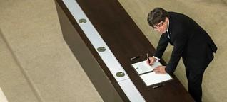 Carles Puigdemont steht vor einer bitteren Wahl