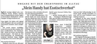 """""""Mein Handy hat Esstischverbot"""""""
