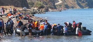 """Lesbos: """"Wir machen hier den Job der Behörden"""""""