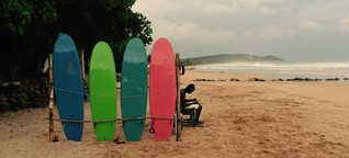 Surfing in Ghana: Paradise in progress