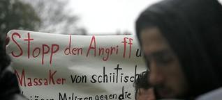 Demonstration vor US-Konsulat in Leipzig / Fotostrecken Leipzig / Leipzig - LVZ - Leipziger Volkszeitung