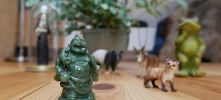 Religion und Kitsch - Buddha im Baumarkt