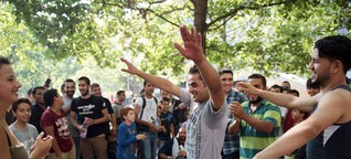 Willkommen: The Germans who are embracing migrants