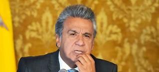Präsident Moreno lässt sich nicht verprellen