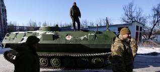 Kämpfe in der Ostukraine flammen auf: Notstand im Donbass
