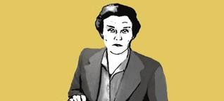 Die Frau, die den Ausbruch des Zweiten Weltkriegs meldete