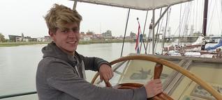 """Traumjob mit 22: Skipper auf der """"Summertime"""""""