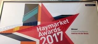 Wow - Haymarket Award 2017 für  TASPO Spezial Gärtnersiedlung / Dehner