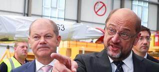 Schulz und Scholz brauchen einander