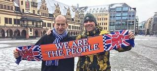 Tausende Glasgow Ranger Fans in Leipzig | MDR.DE