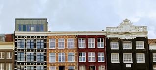 """Amsterdam: Grachten, Cafés und ein """"I AM"""""""