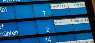 """Sturmtief """"Herwart"""": Zugverkehr im Norden normalisiert sich langsam - WELT"""