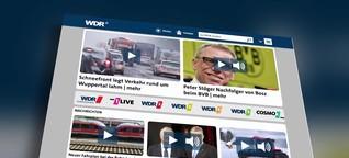 Gekürzte Onlinetexte: WDR geht auf Verlage zu