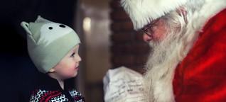 Es ist richtig, Kindern vom Weihnachtsmann zu erzählen
