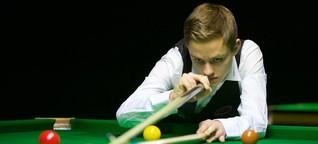 Snooker: Lukas Kleckers und der Traum vom Crucible