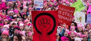 Women's March in D.C.: Was die Anti-Trump-Demonstranten wollen