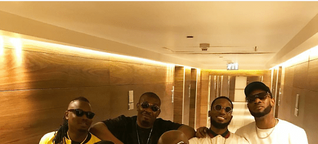 Photos of Don Jazzy, D'banj, Mo'hits reunion At Davido's Concert