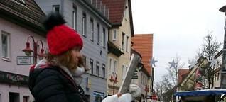Januar-Krämermarkt in Kirchheim - Mützen bis Wärmflaschen
