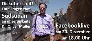"""Südsudan: """"Was kann man in so einer Situation überhaupt noch tun?"""""""