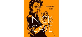 """Nick Cave. Mercy On Me""- Comic von Reinhard Kleist"