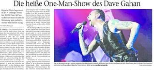 Depeche Mode: Die Giganten in Nürnberg