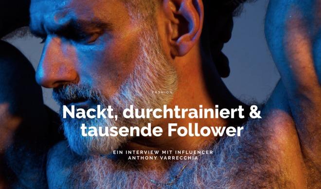 Nackt, durchtrainiert & tausende Follower