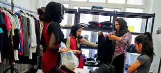 Amerikanische Studenten bei Berliner Flüchtlingshilfe