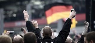 """Demonstration gegen Salafisten: """"Hooligans sind der missratene Teil der Fußballfamilie"""""""
