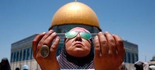 Jerusalem - Das Interesse hinter den Detektoren