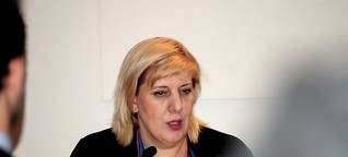 Workshop-Impressions – Dunja Mijatovic (OSCE) and International Criminal Court