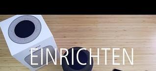 Apple HomePod Unboxing, erster Eindruck und Inbetriebnahme (deutsch)