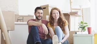 Die erste Wohnung als Paar: So klappt es mit dem Zusammenleben