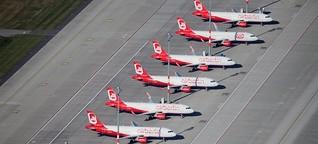 Staatskredit für Air Berlin wirft neue Fragen auf