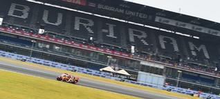 """MotoGP-Hitzeschlacht in Thailand: """"Als ob die Haut brennt"""""""