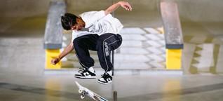 Inoffizielle EM der Skateboarder: Style, nicht Ellenbogen