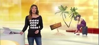 RTL Punkt 12 MAZ: Drei Tage Verspätung auf Kuba