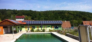 Wie lassen sich Schwimmbäder möglichst ökologisch betreiben?