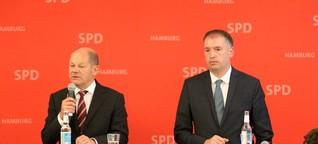 """Olaf Scholz: """"Merkel hätte die Messehallen auch mieten können"""""""