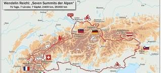 Seven Summits der Alpen - mit dem Rad zu den sieben höchsten Gipfeln