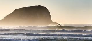 Kaltwassersurfen in Neuseeland: Meer eiskalt, Strände einsam, Wellen perfekt - SPIEGEL ONLINE - Reise